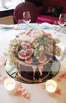 Pink Roses Table Arr