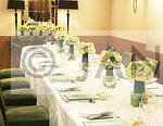 Yellow Topiary Table